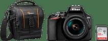 Nikon D3500 + 18-55mm f/3.5-5.6 VR Starter Kit