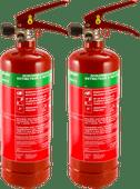 Alecto Schuim brandblusser 2 liter Duo pack