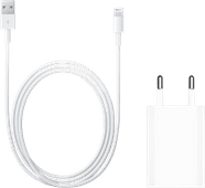 Apple Usb A 5W Oplader + Lightning naar Usb A Kabel 1m