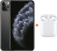 Apple iPhone 11 Pro Max 256GB Space Gray + Apple AirPods 2 with charging case