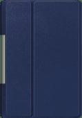 Just in Case Smart Tri-Fold Lenovo Yoga Smart Tab Book Case Blauw