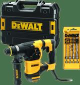 DeWalt D25333K-QS + SDS-plus Hammer Drill Set 4-piece