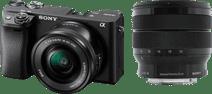 Sony Alpha A6400 + E PZ 16-50mm f/3.5-5.6 OSS + 10-18mm f/4 OSS Sony Alpha A6400