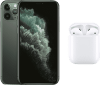 Apple iPhone 11 Pro 64 GB Midnight Green + Apple AirPods 2 met oplaadcase