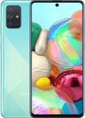 Samsung Galaxy A71 128 GB Blauw
