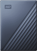 WD My Passport for Mac 4TB Type C Blauw