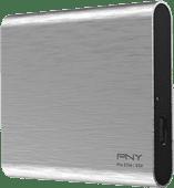 PNY Pro Elite Portable SSD 500GB Zilver