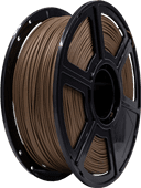 3D&Print WOOD Donkere Filament 1.75 mm (1 kg)