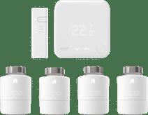Tado Slimme Thermostaat V3+ startpakket + 4 radiatorknoppen