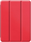 Just in Case Tri-Fold Apple iPad Pro 12.9 inches (2020) Book Case with Pencil Holder Red