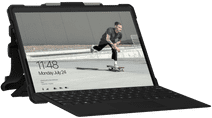UAG Plasma Ice Surface Pro X Book Case Transparant