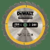 DeWalt Saw Blade for Wood 184x16x1.8mm (24T)