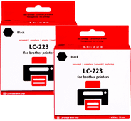 Pixeljet LC-223 Cartridges Black Duo Pack
