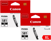 Canon CLI-581XL Cartridges Zwart Duo Pack
