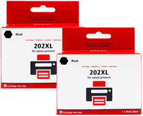 Pixeljet 202XL Cartridges Black Duo Pack