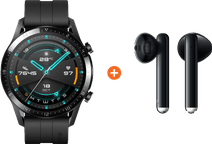Huawei Watch GT 2 Black 46mm + Freebuds 3 Black