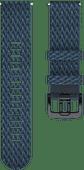 Polar Grit X Paracord Textiellook Bandje Blauw M/L