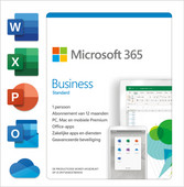 Microsoft 365 Business Standard  Subscription 1 Year NL