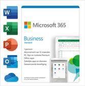 Microsoft 365 Business Standard  Subscription 1 Year EN