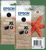 Epson 603XL Cartridges Black Duo Pack