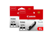 Canon CLI-571XL Cartridge Fotozwart Duo Pack