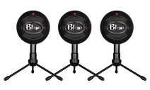 Blue Snowball Black Ice 3-pack