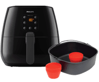 Philips Airfryer XL HD9260/90 + baking master kit HD9945/01