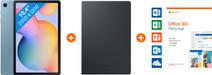 Starter pack - Galaxy Tab S6 Lite 64GB WiFi + 4G Blue