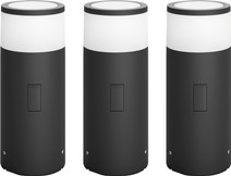 Philips Hue Calla Pedestal Lamp Outdoor Starter 3-pack