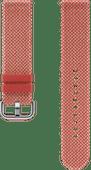 Samsung Galaxy Watch Active2 42mm Kvadrat Strap Red