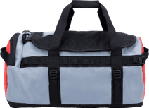 The North Face Gilman Duffel S 50L Black/Mid Grey/Fiery Red