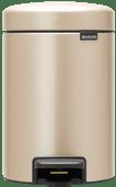 Brabantia NewIcon Pedaalemmer 3 Liter Champagne