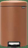 Brabantia NewIcon Pedaalemmer 12 Liter Bruin