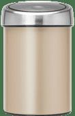 Brabantia Touch Bin 3L Champagne