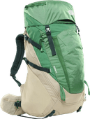 The North Face Terra 55L Twill Beige/Sullivan Green - Slim Fit