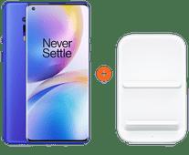 OnePlus 8 Pro 256GB Blauw 5G + OnePlus Draadloze Oplader 30W