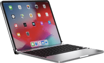 Brydge Apple iPad Pro 12.9 inches (2020/2018) Bluetooth Keyboard Cover Silver