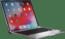 Brydge Apple iPad Pro 12,9 inch (2020/2018) Bluetooth Toetsenbord Hoes Zilver