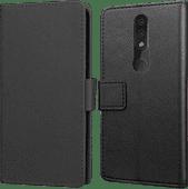 Just in Case Wallet Nokia 4.2 Book Case Zwart