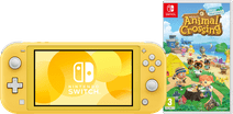 Nintendo Switch Lite Geel Animal Crossing Bundel
