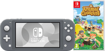 Nintendo Switch Lite Grijs Animal Crossing Bundel