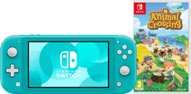 Nintendo Switch Lite Turquoise Animal Crossing Bundel