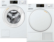 Miele WSD 323 WCS PowerWash 2.0 + Miele TSD 443 WP EcoSpeed