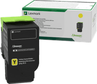 Lexmark C242X Toner Geel