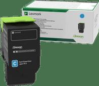 Lexmark C2320 Toner Cyaan (Retourneringsprogramma)