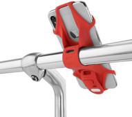 BoneSport Bike Tie 2 Universal Bike Mount Red