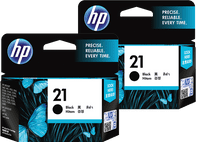 HP 21 Duo Pack Black