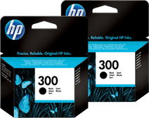 HP 300 Cartridges Zwart Duo Pack