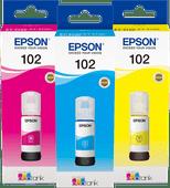 Epson 102 Inktflesjes Combo Pack