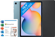 Starter pack - Samsung Galaxy Tab S6 Lite 64GB WiFi Blue